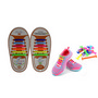 Silicone Shoe Tie Laces Child