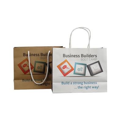 Picture of C5 Landscape Full Colour Paper Bag