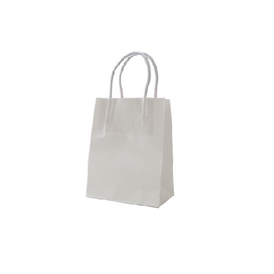 Picture of Runt Standard White Kraft Paper Bag