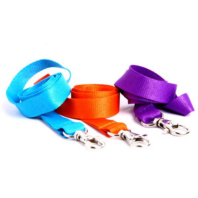 Picture of Gemini 20mm Plain Lanyard with Dog Clip/
