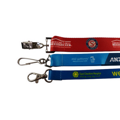 Picture of Lanyard Pisces Budget Full Colour Sublim