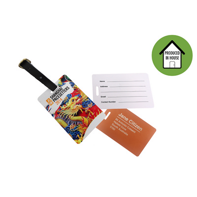 Picture of Plastic Luggage Tag Local