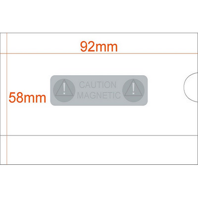 Picture of Business Card Size Rigid Badge Holder PV