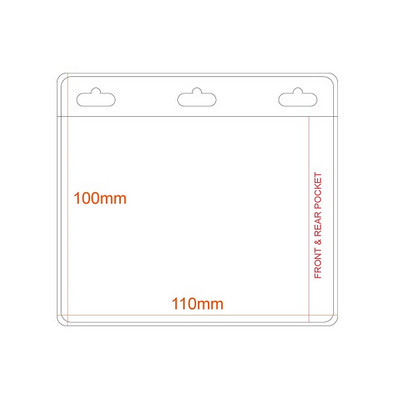 Picture of Medium Soft Pocket - Double Sided