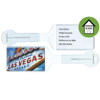 Picture of Flexible PVC Fully Produced Luggage Tag