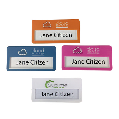 Picture of DIY Full Colour Digital Print Name Tag