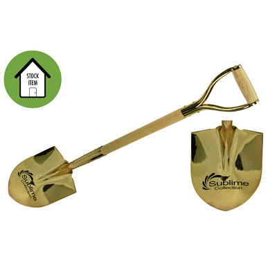 Picture of Gold Ceremonial Shovel Etched
