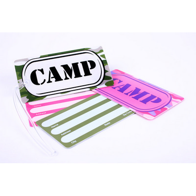 Picture of Luggage Tag Hard Plastic with name panel