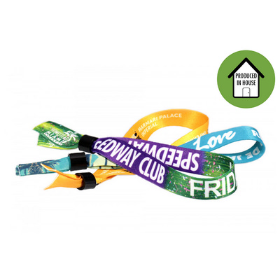 Picture of Fabric Wristbands Sublimated Local
