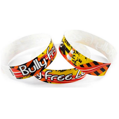 Picture of Tyvek Eziband Wristband - Bully Free ZoneTyvek Wristbands, Event Fundraising, Spo