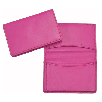 Picture of Premium Pink Leather Card Holder