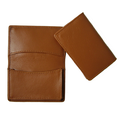Picture of Premium Tan Leather Card Holder