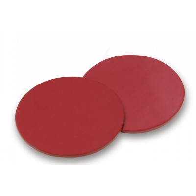 Picture of Deluxe Red Round Coasters