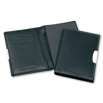 Picture of Premium Leather Pocket Notebook with Whi