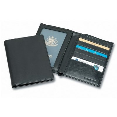 Picture of Premium Leather Passport Wallet
