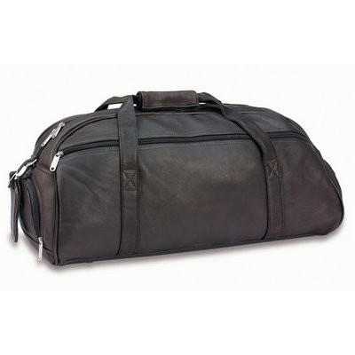 Picture of Superior Brown Leather Sports Bag