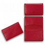 Premium Red Leather Card Holder