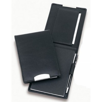 Picture of Premium Leather Flip Pocket Notebook wit