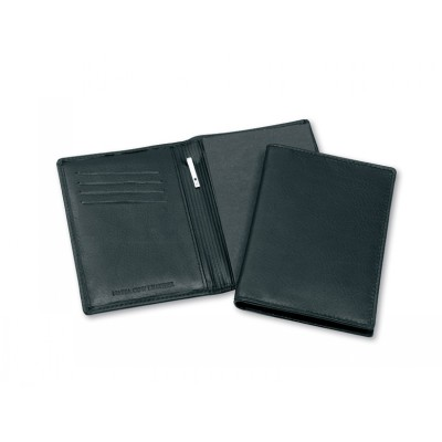 Picture of Premium Leather Pocket Notebook with Pen