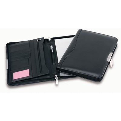 Picture of Superior Leather Compact Zip Compendium