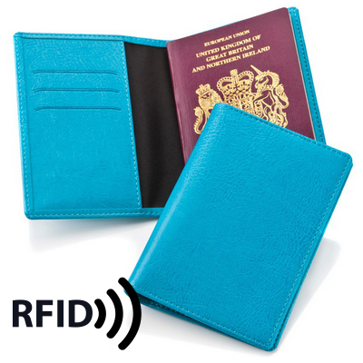 Picture of Passport Wallet with RFID Protection
