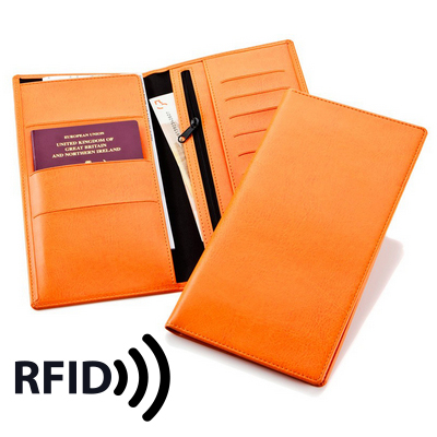 Picture of Deluxe Travel Wallet with RFID Protection