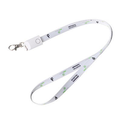 Picture of Polyester Lanyard Charging Cable
