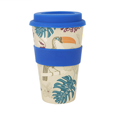 Picture of 400ml Reusable Bamboo Coffee Cup