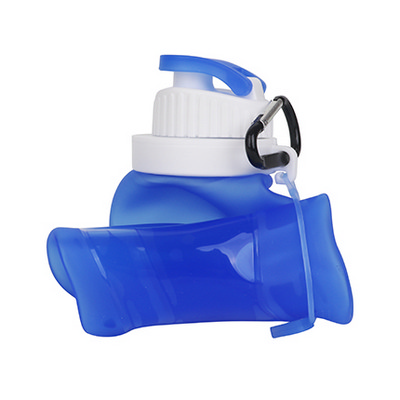 Picture of 500 ml Collapsible Silicone Drink Bottle
