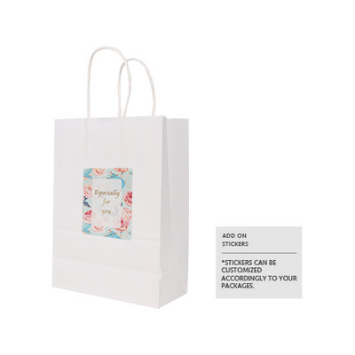 Picture of Twisted Handle Kraft Paper Bag (160x220x80mm)