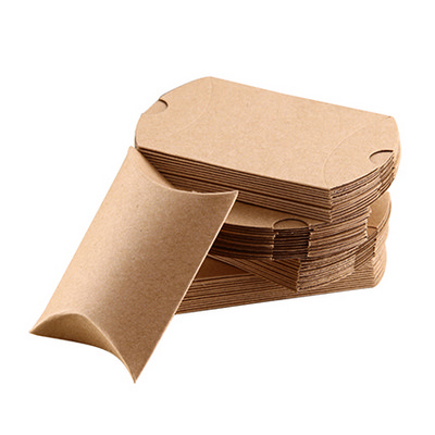 Picture of Large Brown Kraft Pillow Box(170 x 140 x 37mm)