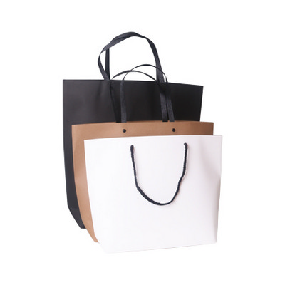 Picture of Medium Boutique Kraft Paper Bag(370 x 280 x 100mm)