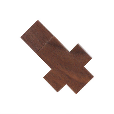 Picture of Cross Wooden Flash Drive