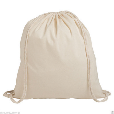 Picture of CALB06 Forster Calico Drawstring Bag