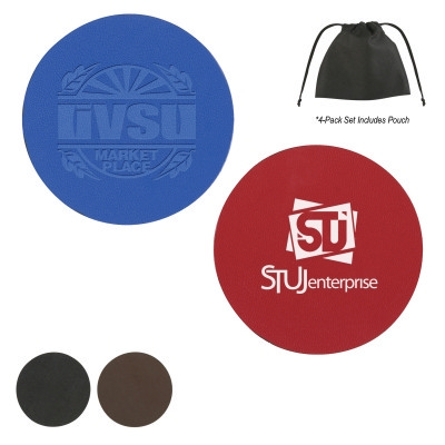 Picture of COSD98 Bonded Leather Coaster