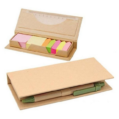 Picture of DESK37 Eco Post-It Notes Box With Recycl