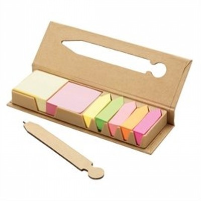 Picture of DESK38 Eco Post-It Notes Box With Recycl
