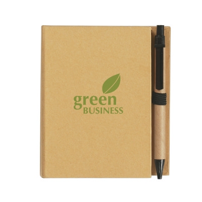Picture of H1349P Eco-Inspired Notebook With Pen
