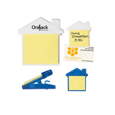 Picture of H238P House Clip With Sticky Notes