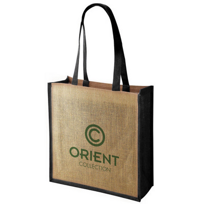 Picture of JUTB03 Large Jute Tote Bag With Gussett