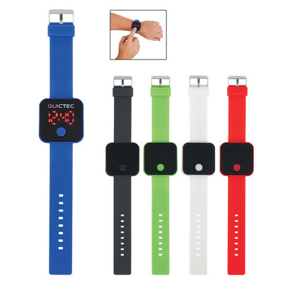 Picture of LIFE2910 Square Unisex Digital Led Watch