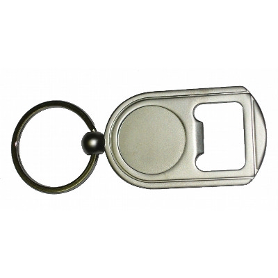 Picture of MEKR21 Stanford Metal Keyring With Bottl