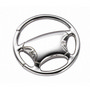 MEKR22 Steering Wheel Metal Keyring
