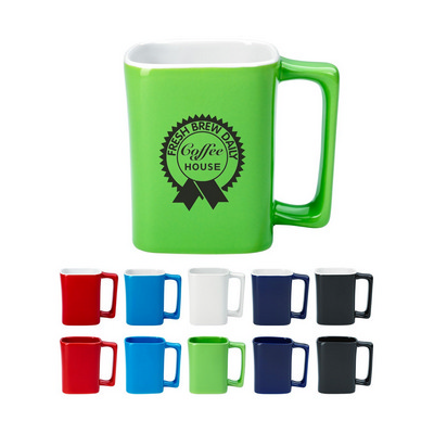 Picture of MUGD13 330ml Square Mug
