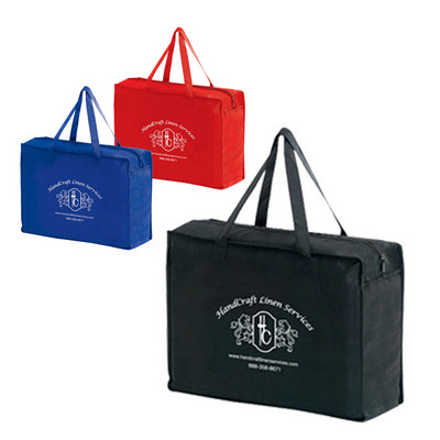 Picture of Non-Woven Essential Briefcase Tote With