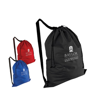 Picture of Non-Woven Laundry Duffel Bag with over t