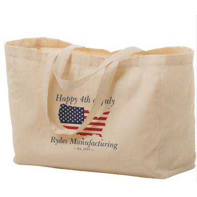 Picture of Cotton Canvas Tote Bag  16X6X12 