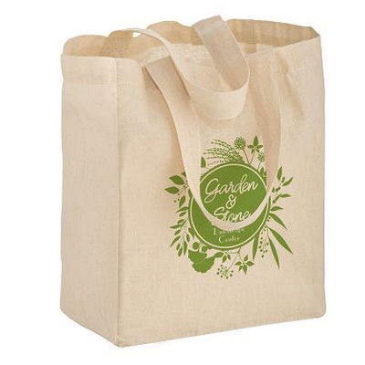 Picture of Cotton Canvas Tote Bag  8X4X10 