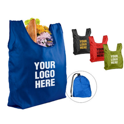 Picture of OCBBC105 Nylon Foldable Tote With Drawst