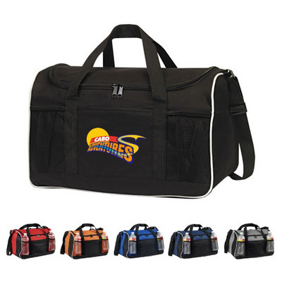 Picture of 600D Poly Sports Duffle Bag